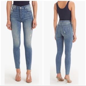MOTHER The Stunner Ankle Fray Jeans, 25